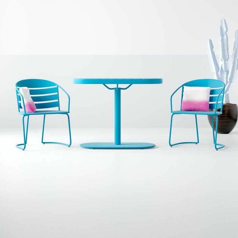 Drayton 3 Piece Bistro Set. Image via Wayfair.