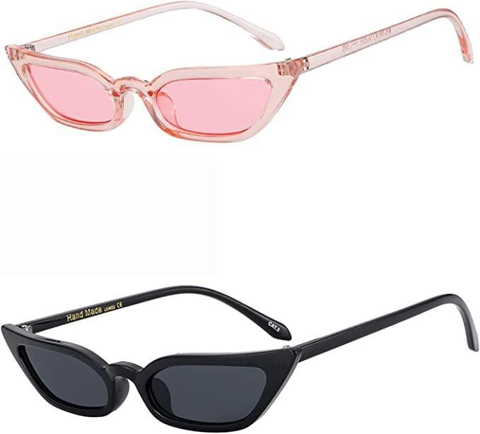 <p>These <span>Wowsun Vintage Cat-Eye Sunglasses</span> ($14) comes in black and pink so you can rock any look and embody any vibe.</p>