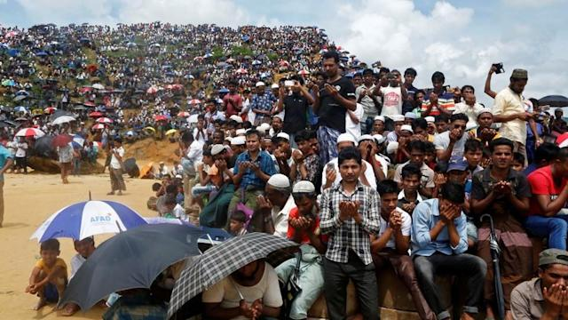 The Rohingya have heard grandiose talk of worldwide relief and justice, but seen little to no action. Now the group's options are narrowing.