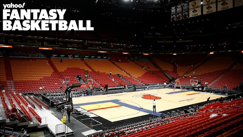 The American Airlines Arena in Miami, Florida.