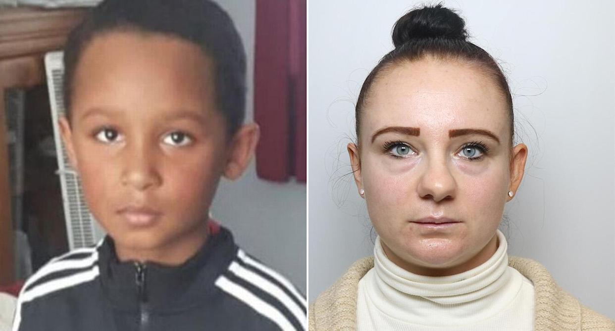 Wendy Hall, 33, left her son Malakye home alone before he died. (Reach)