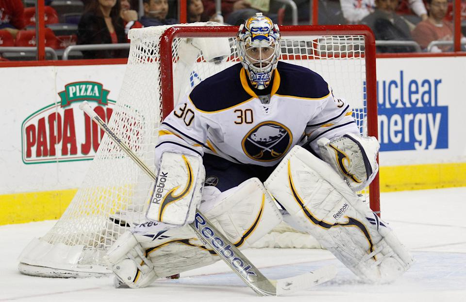 <b>Ryan Miller</b><br> The Buffalo Sabres goaltender signed a five-year extension in July 2008 worth $31.25 million. Annual salary: $6.25M