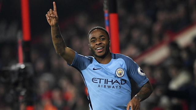 Raheem Sterling is in fine form for Manchester City this season but has lofty ambitions - the kind only a glut of goals will help him reach.