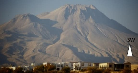Oldest Volcano Painting Linked to Ancient Eruption