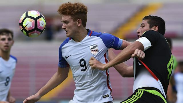 The U.S. youth international, who starred at the U-17 and U-20 World Cups, has turned 18 and officially inked his deal with the Bundesliga club