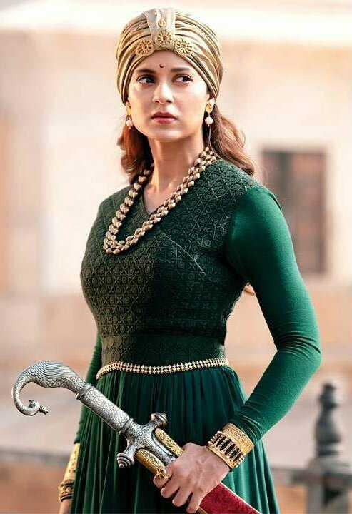 The unblinking Kangana brings to life the fabled battle queen of Jhansi in this film meant to rouse feelings of Indian nationalism. Kangana rides horses, jumps on elephants, leads her kingdom, and cuts down British troops, dressed in fine battle regalia.