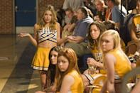 <p>In 2008, Ashley Benson starred in the the film <em>Fab Five: The Texas Cheerleader Scandal</em>. The movie is about a teacher who is being harassed by a group of popular mean girl cheerleaders who think they have free rein over the school. The movie is based on real-life events that happened at McKinney North High School in Texas back in 2006. </p>