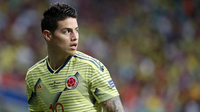 James Rodriguez Columbia 2019-06-23