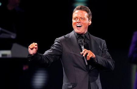 FILE PHOTO: Mexican singer Luis Miguel performs during the International Song Festival in Vina del Mar city.