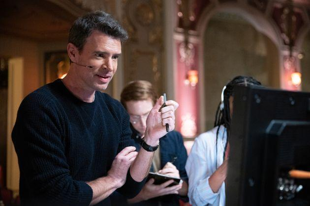Scott Foley as Nick, the executive producer of a reality dance competition show on