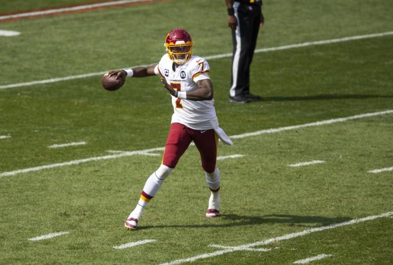 Haskins to remain Washington's QB, for now