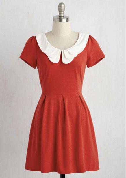 mod cloth peter pan collar
