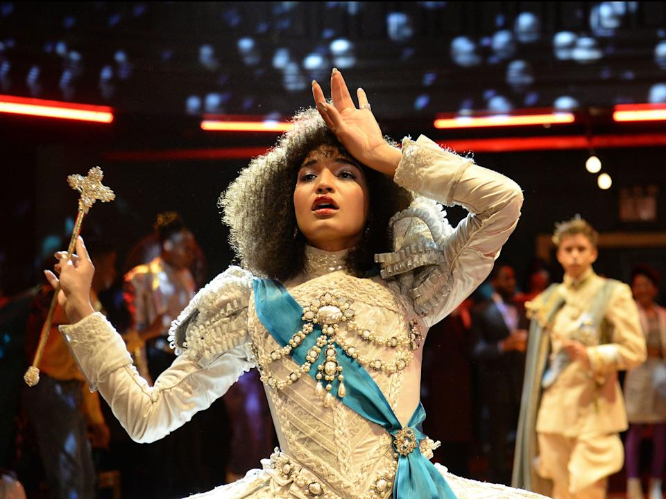 "Indya Moore stars on ""Pose."""