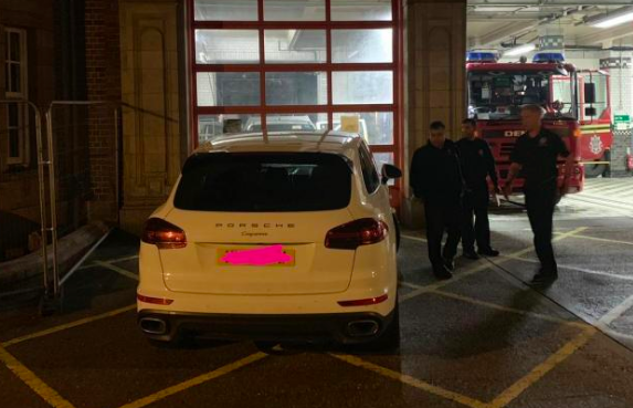 Aston Fire Station has urged people not to leave cars parked blocking their vehicles. (INSTAGRAM)