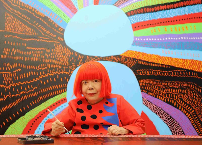 Polka dot queen yayoi kusama to open museum in tokyo polka dot queen yayoi kusama to open museum in tokyo altavistaventures Image collections