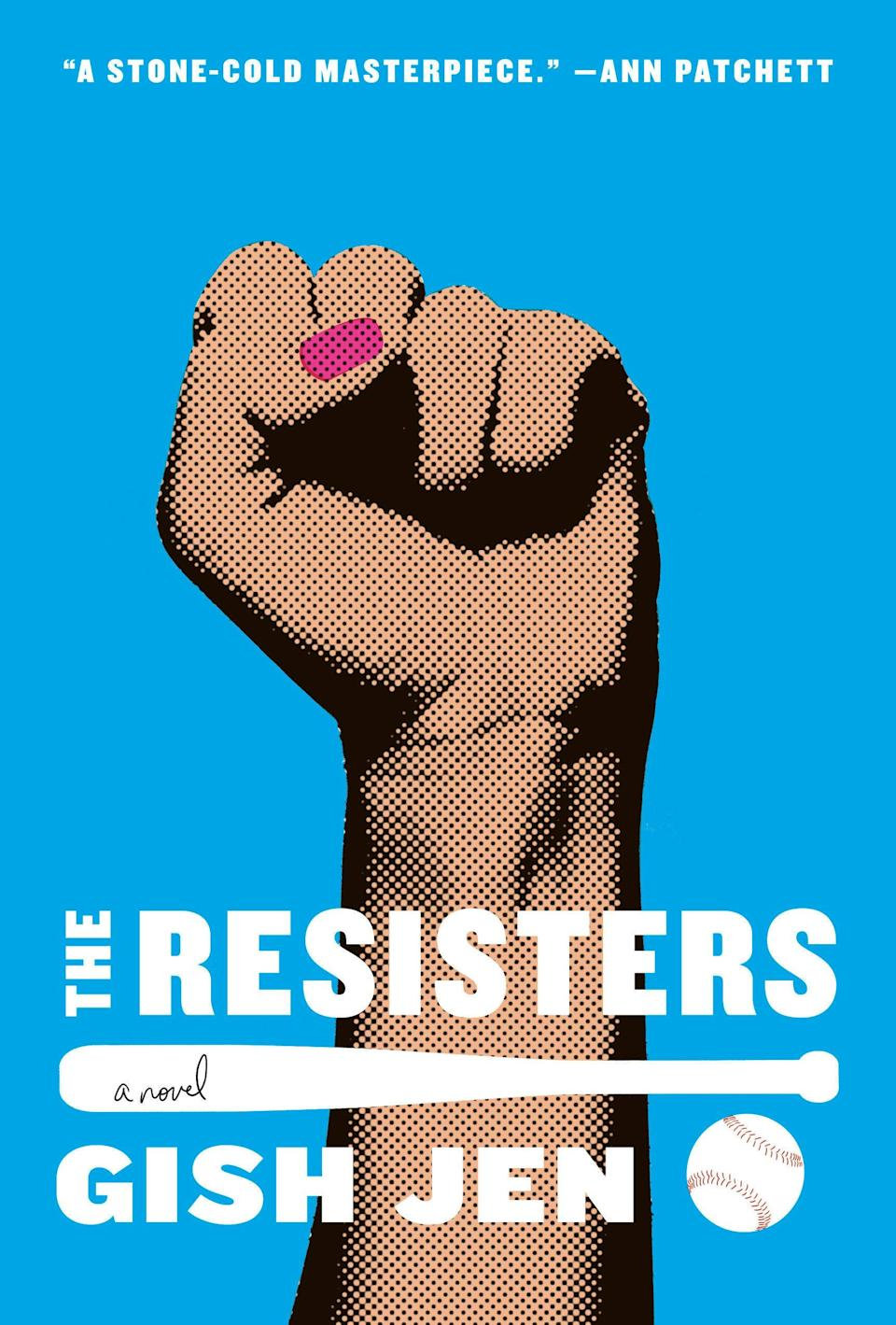 """Reading Gish Jen's <em>The Resisters</em> is like peering into a crystal ball that reveals a disturbing future built upon the dangers of our present world. This is a heartbreaking, poignant novel about family, love, talent, and race that you won't be able to put down. —<em>Lisa Ko, author of</em> <a href=""""https://www.amazon.com/Leavers-National-Book-Award-Finalist/dp/1616206888"""" rel=""""nofollow noopener"""" target=""""_blank"""" data-ylk=""""slk:The Leavers"""" class=""""link rapid-noclick-resp"""">The Leavers</a>"""