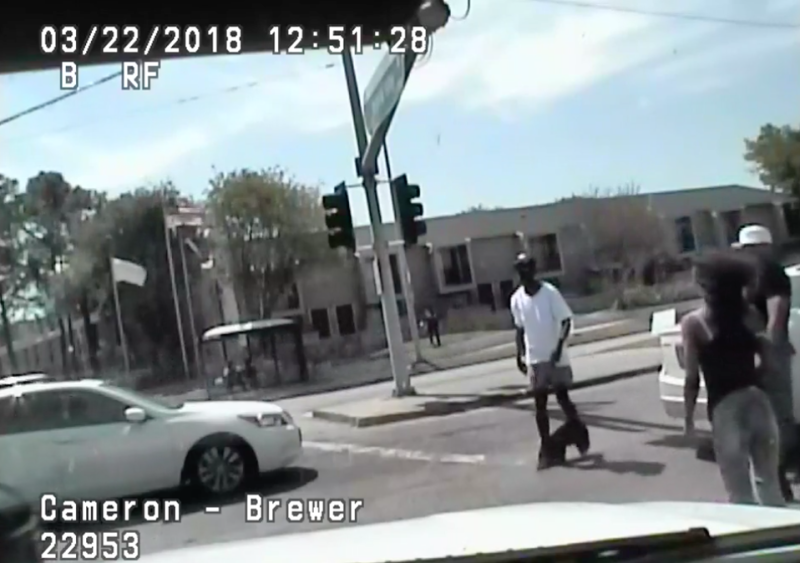 An unarmed black man who was shot dead by a Texas police officer last Thursday