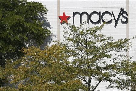 A Macy's store is seen in Schaumburg, Illinois near Chicago