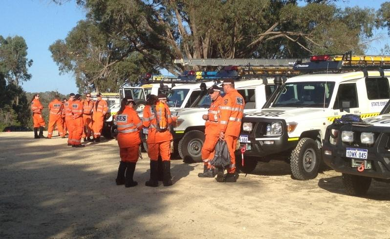 ses volunteers search for missing man graham duncan.