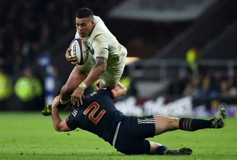 It's difficult to ignore the financial stability provided by cosmopolitan team's like England, particularly for players like Fiji-born Nathan Hughes (white), who says he plays rugby to support his family