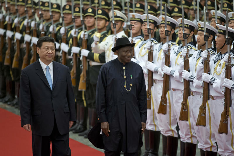 Nigerian president finalizes loan deals in China