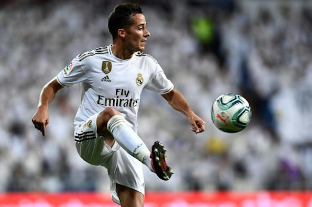 Lucas Vazquez has broken after dropping a dumbbell on his foot (AFP Photo/OSCAR DEL POZO)