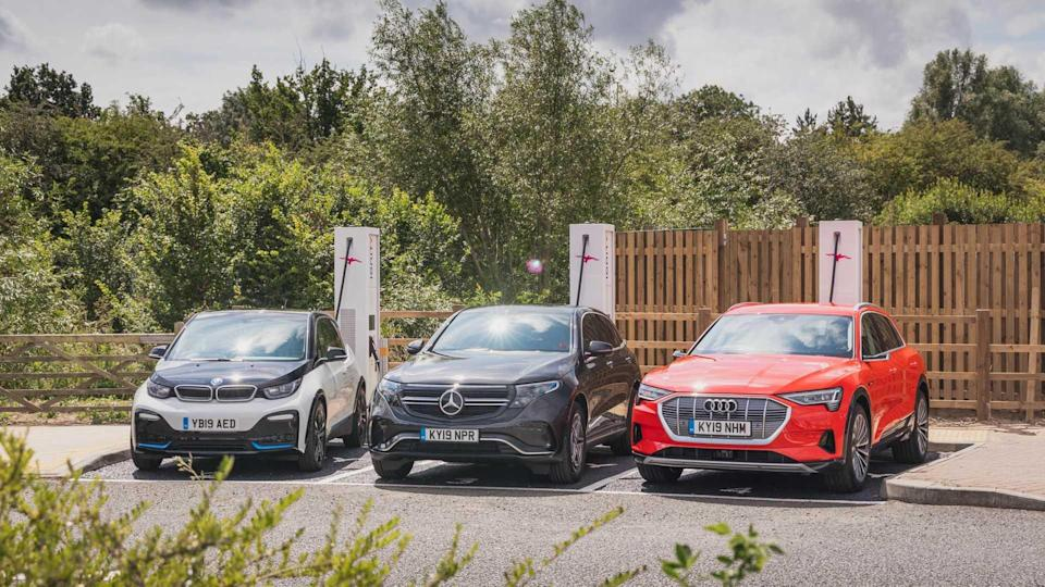IONITY fast charging station