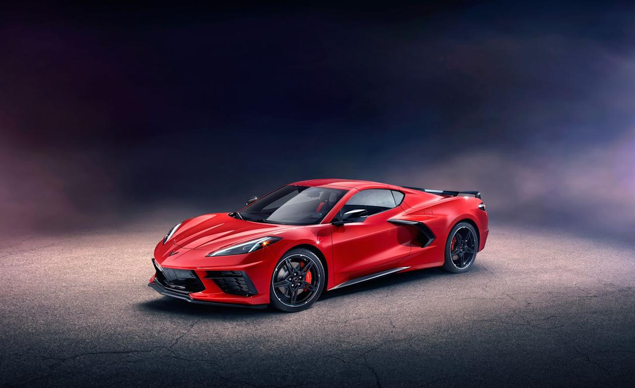 <p>And such are the heat-dissipation and performance requirements and the packaging challenges of a mid-engined sports car that the stylists would just have to find ways to make the functional solutions beautiful. The result is, well, something of a wild adolescent fantasy nonetheless.</p><p>Tucking a V-8 between the occupants and the rear-wheel centerlines meant that the driver's compartment moved forward 16.5 inches compared with the C7's, hard up against the front wheel wells. Chevy claims (and we can confirm) that it's much easier to enter and exit the C8 than most other mid-engined sports cars.</p>