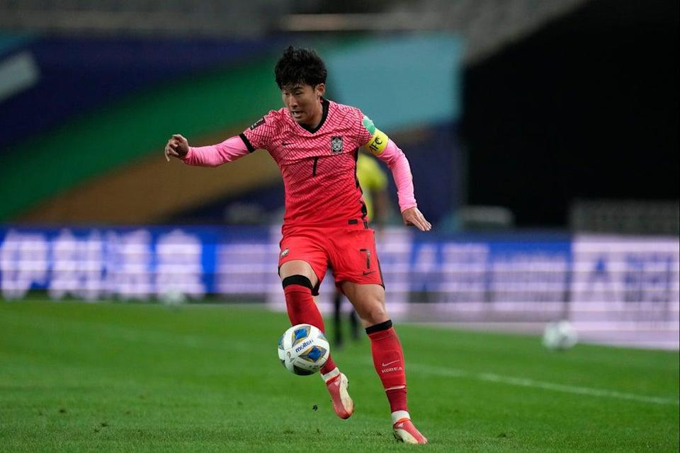 Heung-Min Son is an injury doubt for Saturday's game (AP)