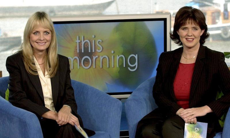This part of This Morning's 28-year history is often glossed over, but you might just remember Twiggy and Coleen were picked as Richard and Judy's full-time replacements in 2001. They only lasted a few months in the job before being axed.