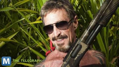 "Hollywood is ready to coin 2013 the year of the ""manhunt.""  Warner Brothers will adapt a Wired article to script the next cat and mouse thriller: John McAfee: The Movie."