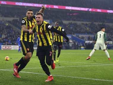 Premier League: Gerard Deulofeu nets first ever hat-trick in English football to help Watford rout Cardiff City