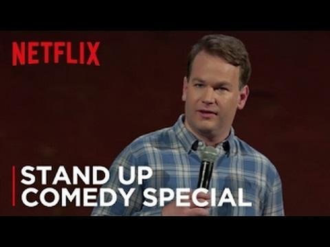 "<p>Mike Birbiglia has a handful of specials available on Netflix, and all of them are worth watching. But <em>Thank God For Jokes </em>might find the comedian at his most thoughtful; he opens the special by dissecting the anatomy of being an early person vs being a late person, and it's all off to the races from there. Birbiglia has a calm on-stage demeanor that can really be easy to watch for anyone looking to nod their head in agreement and laugh a lot after a stressful day.<em> —ER</em></p><p><a href=""https://www.youtube.com/watch?v=QOlnuN2PXbg"" rel=""nofollow noopener"" target=""_blank"" data-ylk=""slk:See the original post on Youtube"" class=""link rapid-noclick-resp"">See the original post on Youtube</a></p>"