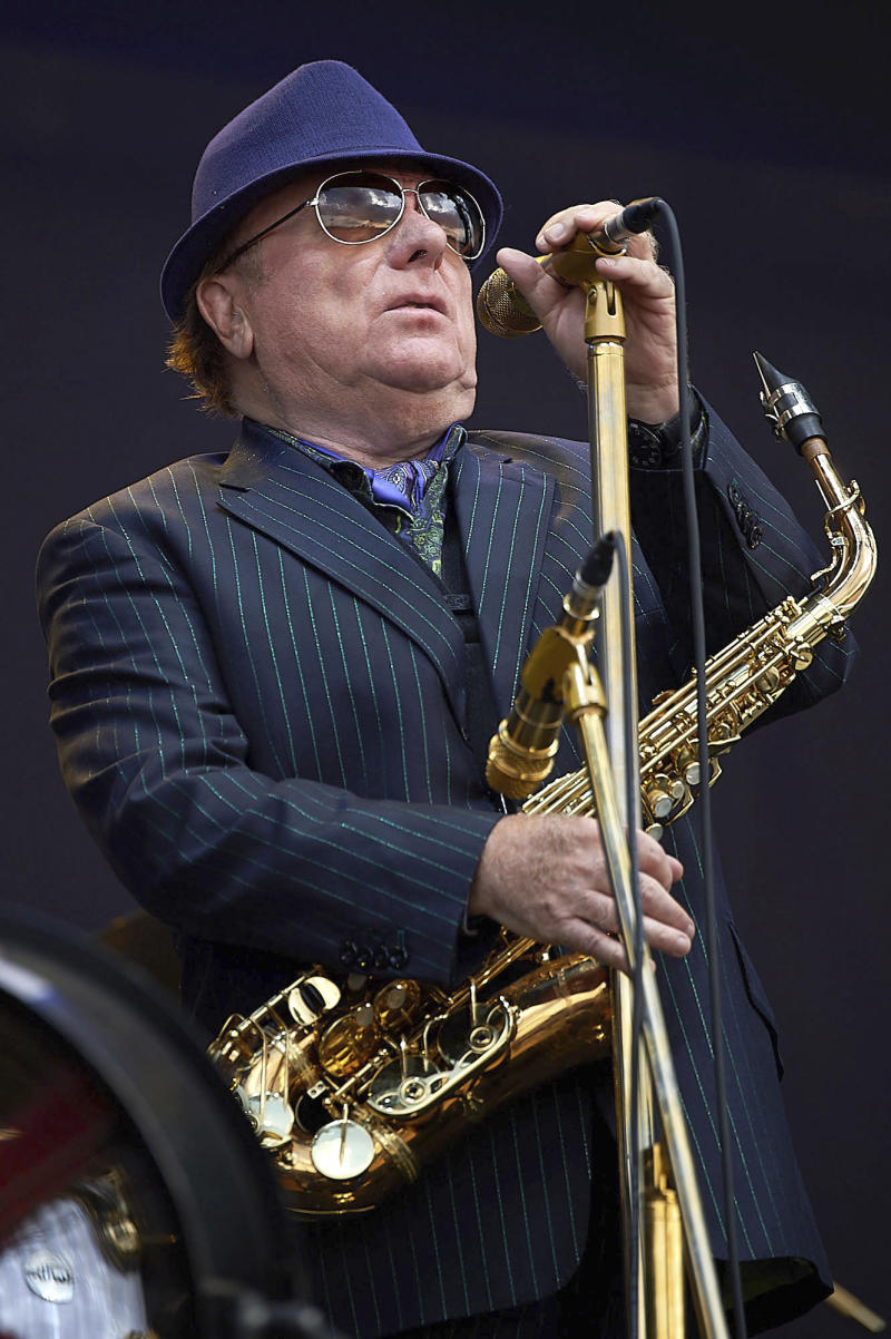Van Morrison performing in concert at the 2018 British Summer Time Music Festival in Hyde Park. (zz/KGC-247/STAR MAX/IPx)