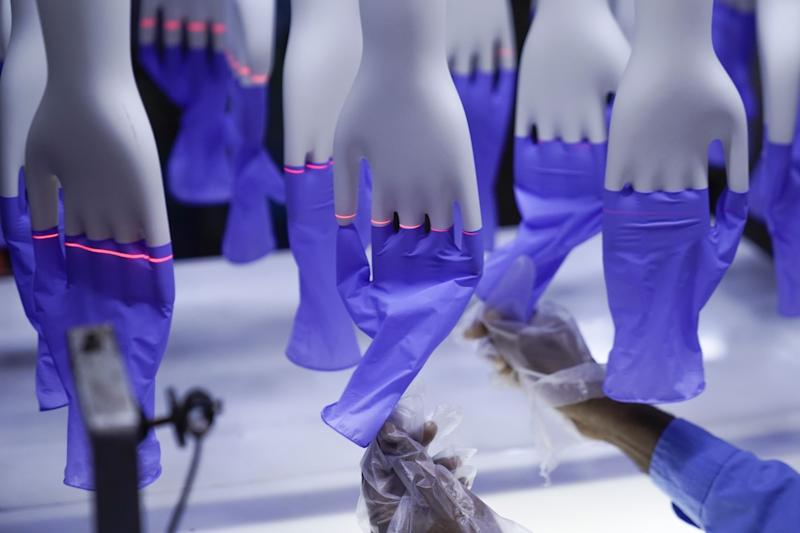 Top Glove operates nearly four dozen factories in Malaysia, Thailand and China.