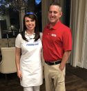 """<p>Flo from Progressive is reporting live this Halloween to sell you insurance next to Jake from StateFarm.</p><p><a class=""""link rapid-noclick-resp"""" href=""""https://www.amazon.com/Progressive-Collection-Insurance-Costume-One_Size/dp/B009B14SA2?tag=syn-yahoo-20&ascsubtag=%5Bartid%7C10072.g.27868801%5Bsrc%7Cyahoo-us"""" rel=""""nofollow noopener"""" target=""""_blank"""" data-ylk=""""slk:SHOP COSTUME"""">SHOP COSTUME</a></p>"""