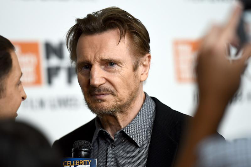 "NEW YORK, NY - OCTOBER 04: Liam Neeson attends the Netflix's ""The Ballad of Buster Scruggs"" NYFF Red Carpet Premiere at Alice Tully Hall on October 4, 2018 in New York City. (Photo by Jared Siskin/Getty Images for Netflix) ORG XMIT: 775236751 ORIG FILE ID: 1045709416"