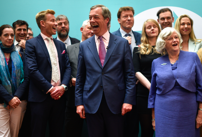 Labour were trounced in the European elections by the Brexit Party (Getty)
