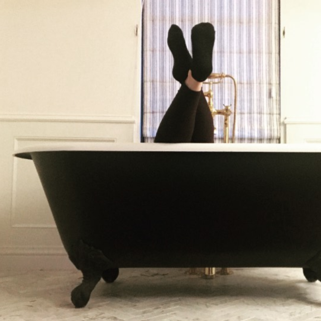 "<p>""This bathtub and I both donated to the Times Up Legal Defense Fund, and you can too!"" wrote the leggy <em>2 Broke Girls</em> alum. (Photo: <a href=""https://www.instagram.com/p/Bdq2K8RBHRJ/?hl=en&taken-by=katdenningsss"" rel=""nofollow noopener"" target=""_blank"" data-ylk=""slk:Kat Dennings via Instagram"" class=""link rapid-noclick-resp"">Kat Dennings via Instagram</a>) </p>"