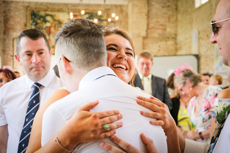Myles and Liz enjoyed their dream day after Myles' terminal diagnosis [Photo: SWNS]