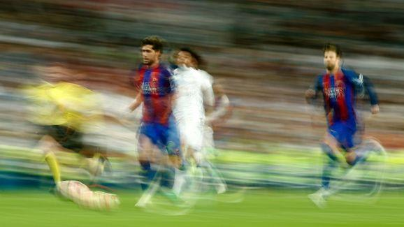 ​Cristiano Ronaldo reacted furiously to Lionel Messi's late equaliser in last weekend's El Clasico. Real Madrid were a man down after Sergio Ramos had been sent off, meaning the 2-2 draw would have been a good result, and maintained Real's advantage going into the last few games. However, in a game where Zinedine Zidane's men could have pulled six points clear, they have now found themselves level in the table with Barcelona, thanks to a last minute Messi equaliser. According to​...