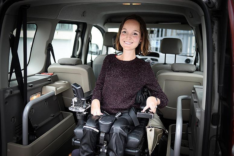 Paris woman creates Uber-like service for people with disabilities