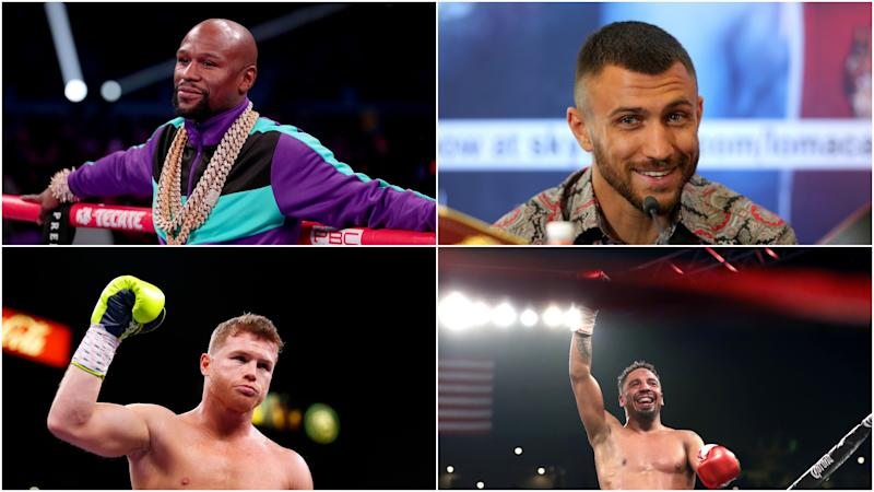 Mayweather, Ward, Lomachenko - Boxing's pound-for-pound top 10 of the decade