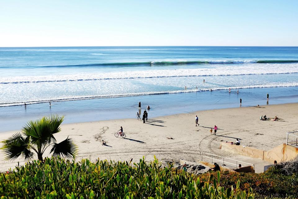 <p><strong>Let's start big picture here.</strong><br> Located close to South Coast Highway 101, Fletcher Cove's crescent-shaped beach is protected by bordering cliffs on both sides. Backing the beach is a manicured park where you'll find public facilities that feel decidedly upscale compared to your average city-owned playground.</p> <p><strong>Any standout features or must-sees?</strong><br> Fletcher Cove has a few areas dedicated to panoramic beach viewing, including one with built-in binoculars. For post-beach imbibing, check out the nearby tasting room at Culture Brewing for hoppy IPAs and nitro milk stout.</p> <p><strong>Was it easy to get around?</strong><br> Paved paths down to the beach make Fletcher Cove much more accessible than other small beaches in the area, and the many facilities offered are a huge plus. There is on-site parking, though visitors can also hop off the Solana Beach train at the nearby stop.</p> <p><strong>That sounds cool. All said and done, what—and who—is this best for?</strong><br> For group outings, head to Fletcher Cove, and enjoy the many public facilities that are offered at the groomed beach and park. Families with kids will love the basketball courts, playground, outdoor showers, and picnic areas.</p>