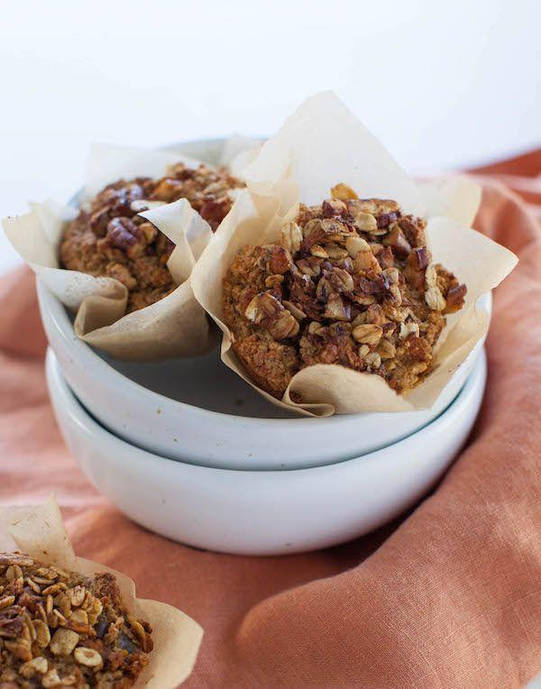"""<p>These hearty muffins are packed with fiber and flavor thanks to the oat bran, dates, pecans, and shredded sweet potatoes. They're perfect for a grab-and-go breakfast. </p><p><strong>Get the recipe at <a href=""""https://sweetpotatosoul.com/2017/10/oat-bran-sweet-potato-muffins.html"""" rel=""""nofollow noopener"""" target=""""_blank"""" data-ylk=""""slk:Sweet Potato Soul"""" class=""""link rapid-noclick-resp"""">Sweet Potato Soul</a>. </strong></p><p><strong><a class=""""link rapid-noclick-resp"""" href=""""https://go.redirectingat.com?id=74968X1596630&url=https%3A%2F%2Fwww.walmart.com%2Fsearch%2F%3Fquery%3Dmuffin%2Bliners&sref=https%3A%2F%2Fwww.thepioneerwoman.com%2Ffood-cooking%2Fmeals-menus%2Fg34922086%2Fhealthy-breakfast-ideas%2F"""" rel=""""nofollow noopener"""" target=""""_blank"""" data-ylk=""""slk:SHOP MUFFIN LINERS"""">SHOP MUFFIN LINERS</a><br></strong></p>"""
