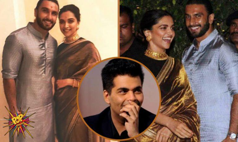 Karan Johar Just Hinted About Ranveer Singh-Deepika Padukone Wedding At His Radio Show And We Can't Keep Quiet!