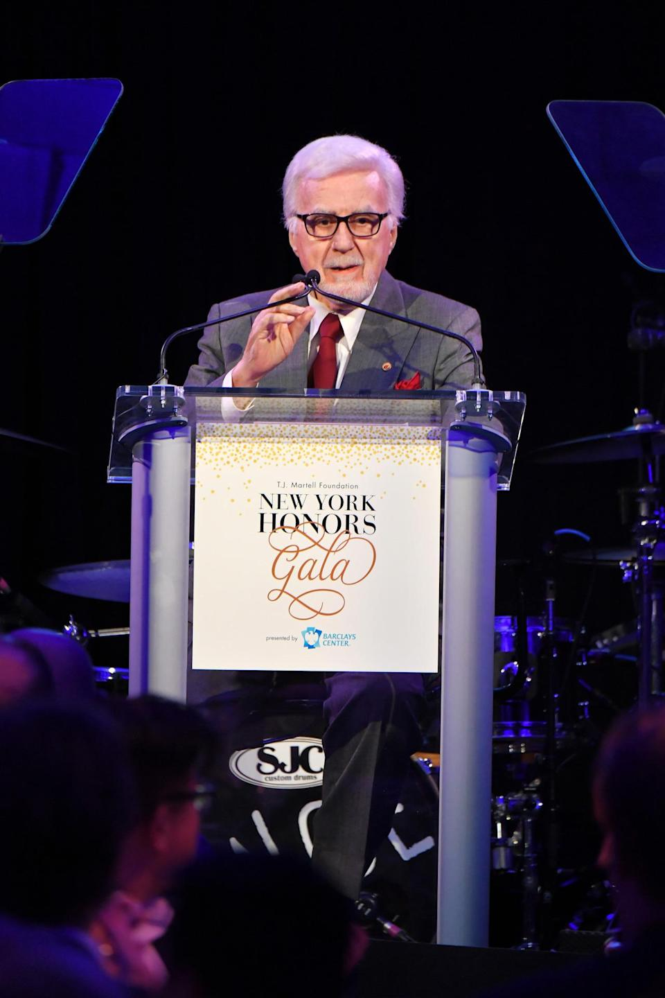 Tony Martell was an American music industry senior executive and philanthropist and the founder of the T.J. Martell Foundation. He died Nov. 27 at age 90. (Photo: Getty Images)