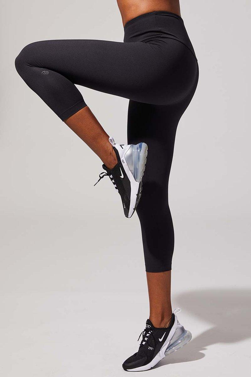 Illuminate High Waisted Recycled Polyester Capri. Image via MPG Sport