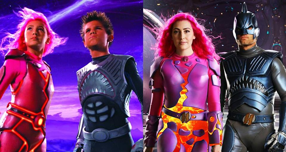Taylor Lautner, Taylor Dooley, JJ Dashnaw, We Are Heroes, The Adventures Of Sharkboy and Lavagirl