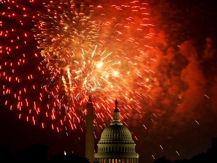 It's best to leave fireworks to the professionals.
